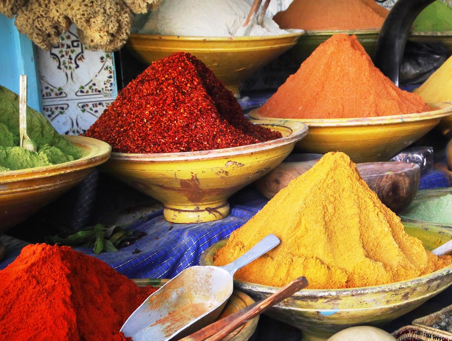 Mercado-especias-marruecos