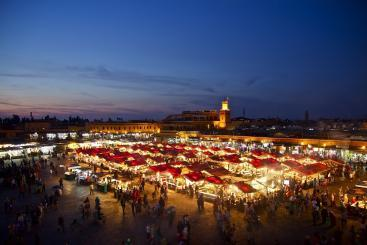 Descubre Marrakech De Noche Con Nuestro Tours Organizados